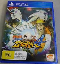 NARUTO SHIPPUDEN: ULTIMATE NINJA STORM 4 PS4 GAME Campbelltown Campbelltown Area Preview