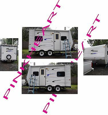Coachmen Decals kit 16'-25' RV sticker graphics trailer camper rv coachman