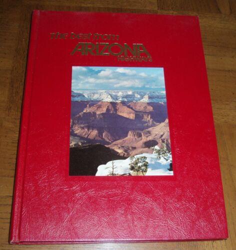 THE BEST FROM ARIZONA HIGHWAYS  -1975 BOOK - PHOTOGRAPHS & ART - TED DE GRAZIA