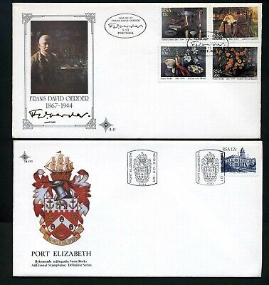 South Africa 1985 - 4 x different Unaddressed FDCs