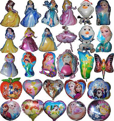 PRINCESSES BIRTHDAY GIRL PARTY BALLOON CENTERPIECE DECOR LOLLY BAG FILLER GIFT - Lollipop Balloons