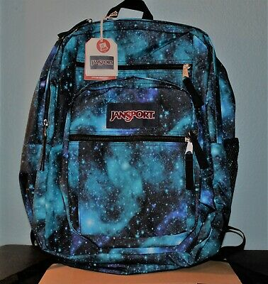 JANSPORT Backpack BIG STUDENT Galaxy LAPTOP Computer Bookbag New