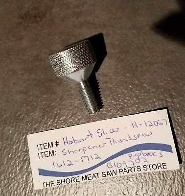 Sharpener Attaching Thumb Screw For Hobart Slicer Models 1612 1712