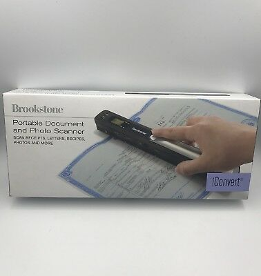 Сканер Brookstone iConvert Portable Document and