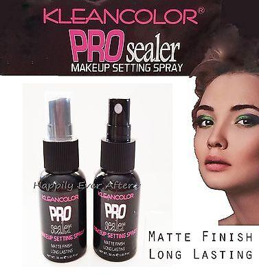 Makeup Setting Spray-Long Lasting, MATTE FINISH, No Melting *Kleancolor