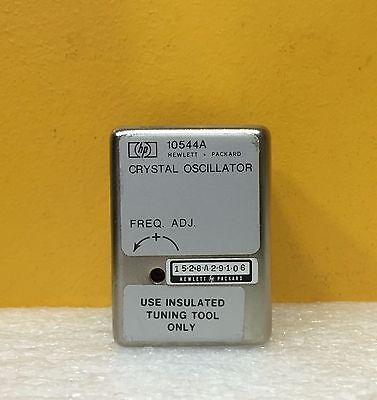 Hp Agilent 10544a 10.000 Mhz High-stability Quartz Crystal Oscillator. Tested