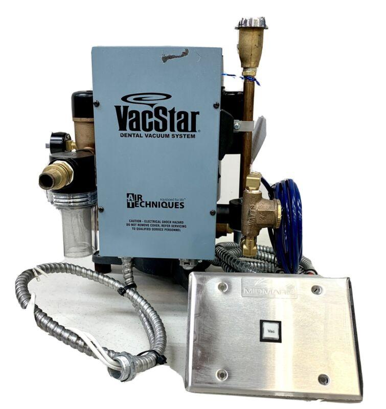 Air Techniques VacStar 20 VS20 Dental Suction Vacuum Pump Wet-Ring Vacuum - 2013