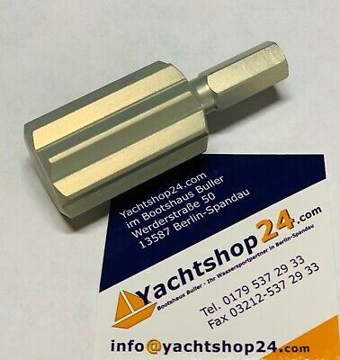 Leichtmetall Winschkurbel Kurbel für Winsch 29 cm Aluminium NEU 8056