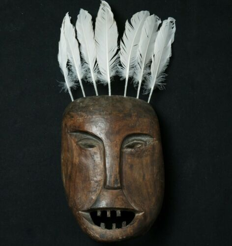 Inuit mask (Tsimshian-Haida-Kwakiut-Tlingit-Salish)