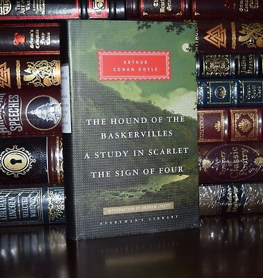 Hound of the Baskervilles Conan Doyle New Hardcover Deluxe Collectible Classics