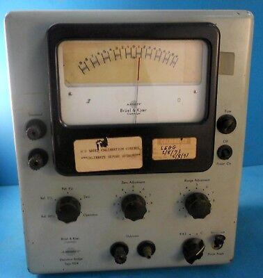 Bruel Kjaer Type 1504 Deviation Bridge Meter Vintage 1950s Electrical Tester