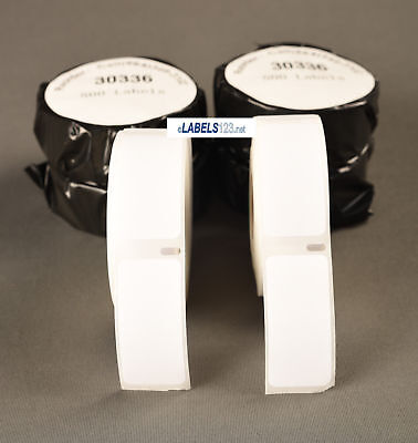 Dymo 4xl Compatible Address 500 Labels 30336 White Adhesive Return Blank Badges