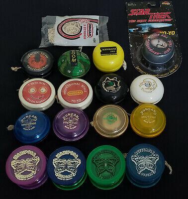 Lot of (16) Vintage Yo-Yos Duncan Specta Star Spaghettios Collectors