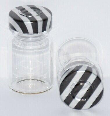 USP 5 mL Clear Sterile Vial with Black Stripe Center Tear Seal 4 Pack