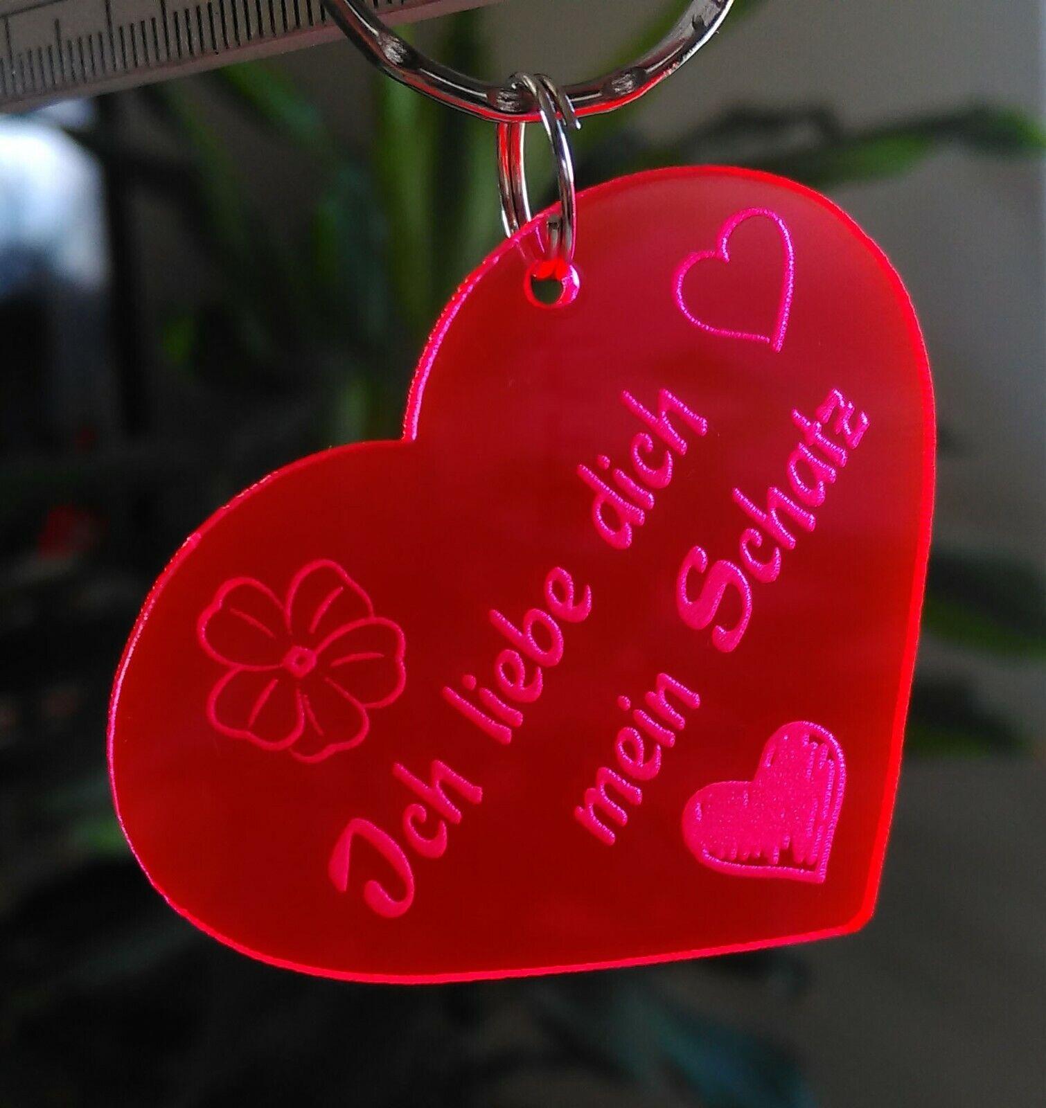 Herz Ich Liebe Dich Valentinstag Geschenk Schlusselanhanger