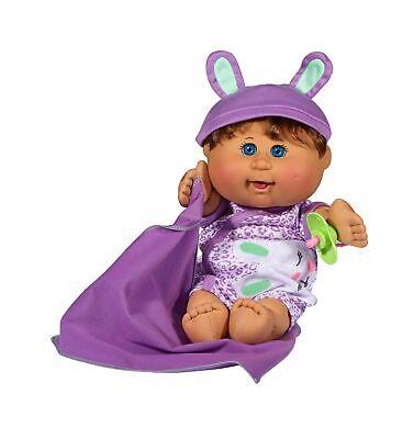 Cabbage Patch Kids Naptime Babies Doll, Brunette Blue Eyed B