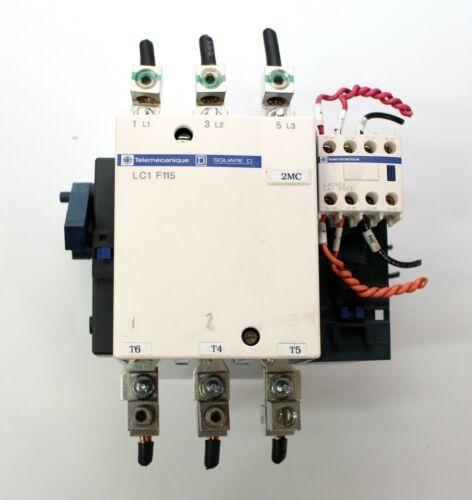 LC1F115 Telemecanique Square D Contactor w/ LADN22  &  LX1 FF 380