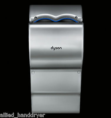 DYSON Airblade dBAB-14 Hand Dryer Steel-Gray Polycarbonate ABS 110V/120V Quieter