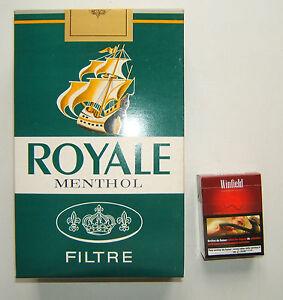 gros paquet de cigarettes factice publicite bureau de tabac royal menthol ebay. Black Bedroom Furniture Sets. Home Design Ideas