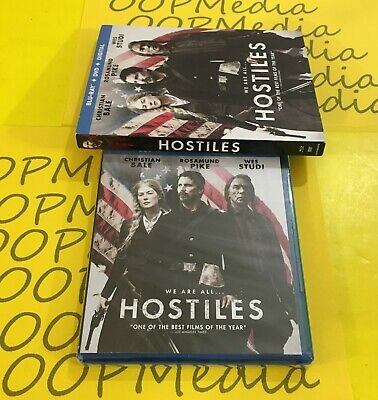 HOSTILES BLU-RAY/ DVD SET (Christian Bale) NEW SEALED AUTHENTIC