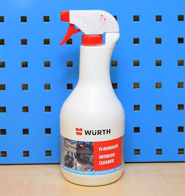 1000ml Würth FI-Reiniger Innenraum Reiniger Fahrzeugreiniger Polsterreiniger