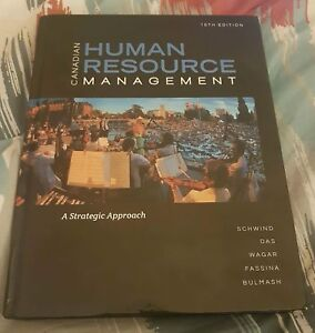 Canadian Human Resource Management-10th Edition