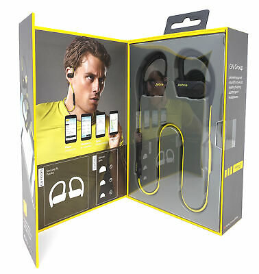 Jabra Sport Pace Wireless Bluetooth Earbuds (Yellow) for sale  Shipping to India