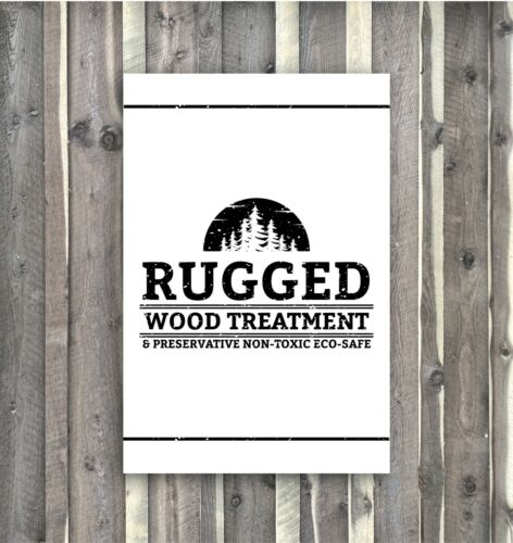 Rugged Wood Treatment Stain Rustic Gray Weathered Siding Barn Fence Eco 5 Gl Mix