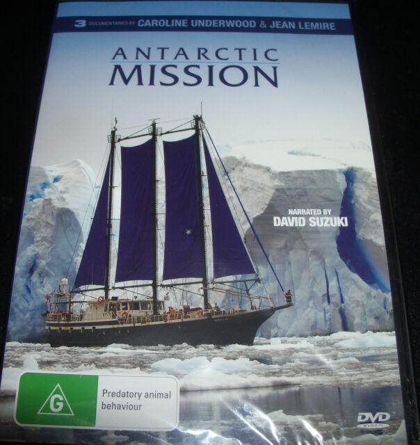 Antarctic Mission (Caroline Underwood Jean Lemire) (Aust Reg 4) DVD - NEW