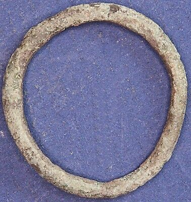Iron Age Danubian Celtic Proto ring coin, 1st to 5th Century BC 20mm *[13454]
