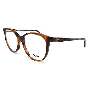 CHLOE Eyeglasses CE2729 218 Havana Cat Eye Women 54x17x140