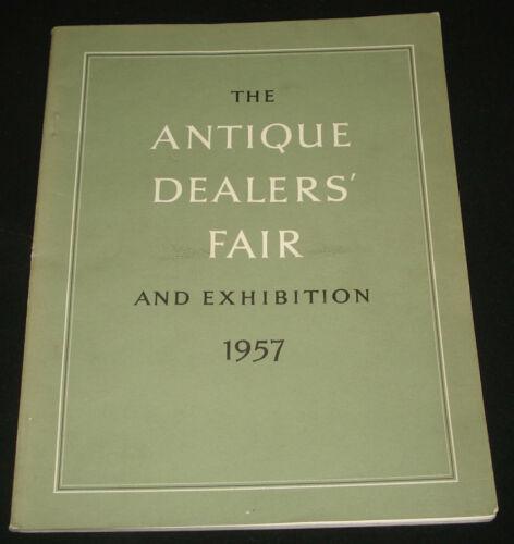 ANTIQUE DEALERS FAIR & EXHIBITION 1957 CATALOGUE 112 pages