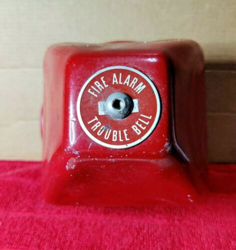 Antique Edwards Adaptable Fire Alarm Trouble Bell