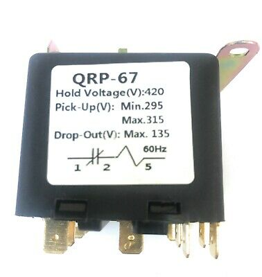 Universal Potential Relay 420 Voltage295-315 Pick Up135 Drop Out 60hz.