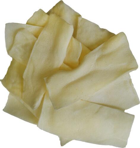 White Rawhide Chips 10 lbs. Bulk, All Natural