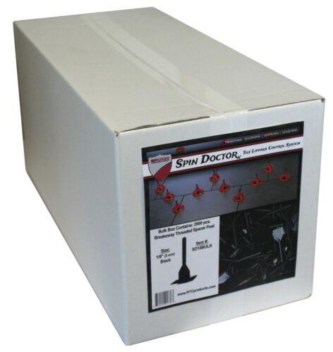 "Spin Doctor Tile Leveling System 1/16"" Spacer 2000pc Bulk Box"