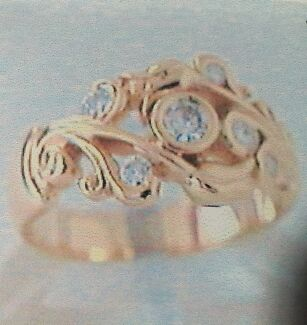 18 carat gold and diamond ring Two Rocks Wanneroo Area Preview