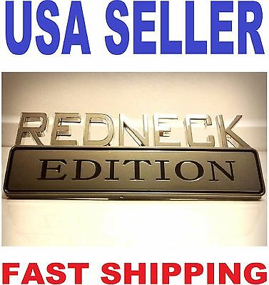Redneck Edition Emblem Crane Carrier Ottawa Fire Truck Oshkosh Logo Decal Badge