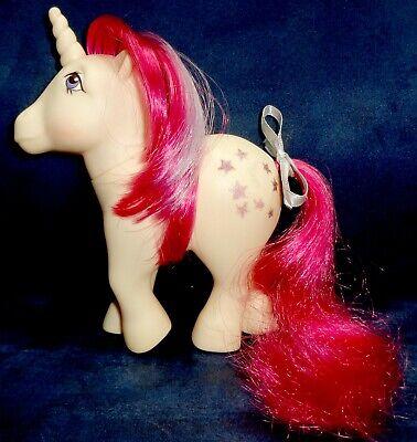 Rose: My Little Pony Vintage Unicorn Moondancer #2 EXCELLENT glittery symbols G1