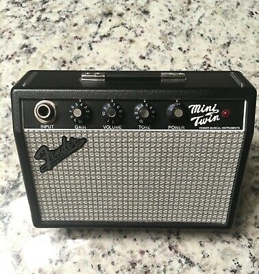 FENDER MINI TWIN MT-10 PORTABLE GUITAR AMP Battery powered