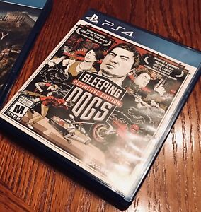 PS4 Sleeping Dogs