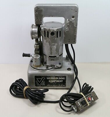Vektek Inc. Portable Electric Hydraulic Pump Model 6a.2 - 115 V 5.2 A - Tested