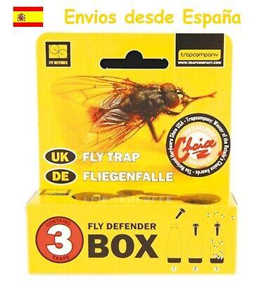 3 Trampas para moscas