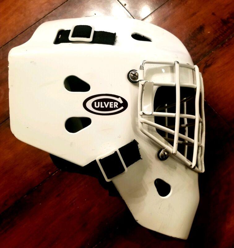 Hackva Goalie mask helmet. Adult Large size. Made in Canada!