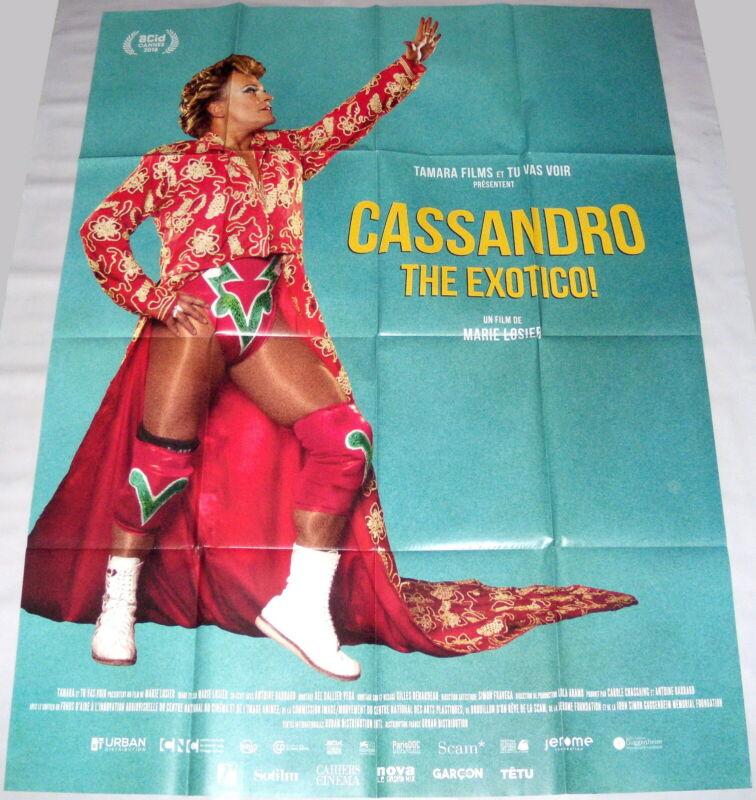 CASSANDRO EL EXOTiCO !  Lucha Libre Mexico gay wrestler LARGE French POSTER