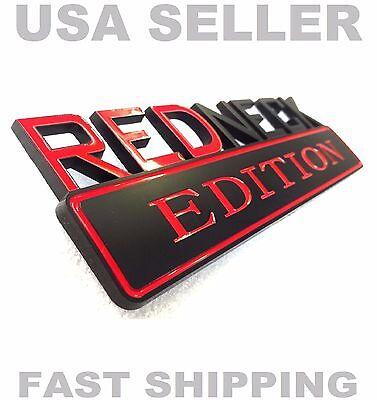 Redneck Edition Emblem Fiat Car Truck Datson Peugeot Logo Decal Ornament Badge