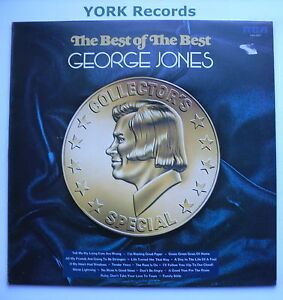 George Jones THE Best OF THE Best EX CON LP Record RCA Victor LSA 3251