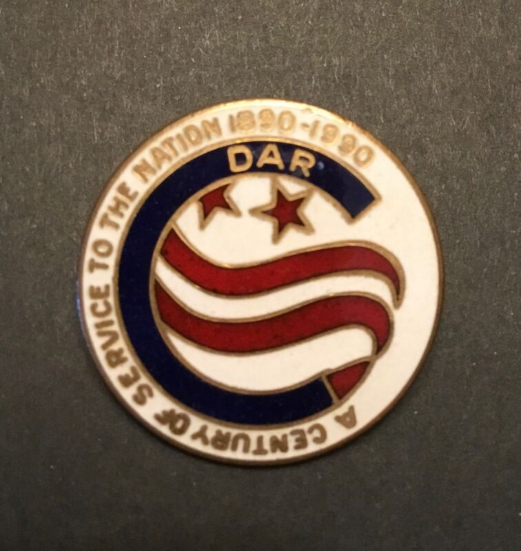 Daughters of the American Revolution, DAR, A Century of Service Pin