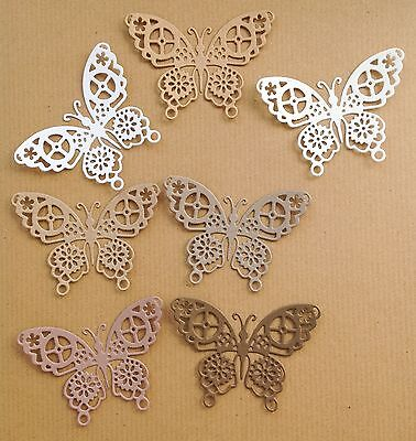 Steampunk Butterfly Die-Cuts (Recycled Mix)