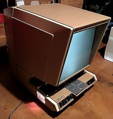 Rare Vintage 3m 800 Microfiche Reader Printer Works